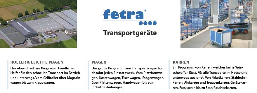FETRA Transportgeräte - Markenshop