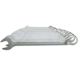 JeCo Profi Maulschlüssel - Ringmaulschlüssel und Maulschlüsselsätze - Sätze 8 oder 12 teilig - Schlüsselweite 6-32mm