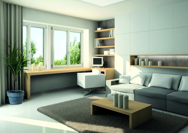 kunsstofffenster 2 fach verglasung 60mm profil mit pfosten 2 fl gelig dkl dkr ma e. Black Bedroom Furniture Sets. Home Design Ideas