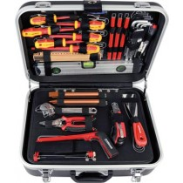 PROJAHN Elektriker-Werkzeug-Sortiment im Koffer 128tlg.