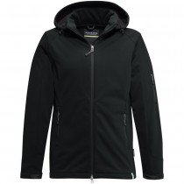 HAKRO Softshell-Jacke Ontario, schwarz, Gr. S