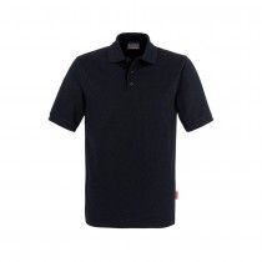 HAKRO Herren Polo-Shirt,schwarz, Gr. M