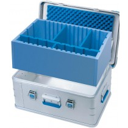 Zarges Schaumstoff-Trennwandset, 550x350x190 mm, blau, 40730