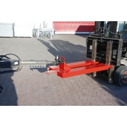 Rangierhilfe, Anhängerkupplung Rockinger selbstt.+ Kupplungskugel, BxTxH 685x1505x340 mm, max. Stützlast 100 kg, rot
