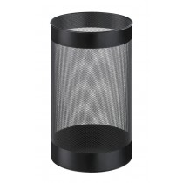 Schirmständer, Durchm.H 240x400 mm, Stahlblech gelocht, schwarz