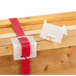 PVC-Kantenschutz, mit Schlitz, passend zu Gurtbreiten bis 75 mm, VE 10 Stück