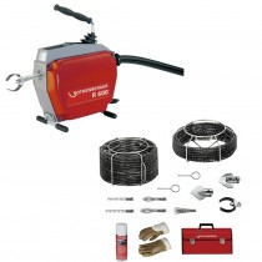 Rothenberger Rohrreinigungsmaschine Spiralen-Werkzeugsatz 22-22-16 mm R 600