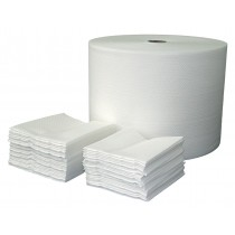MULTISOFT AIR Zellvliesrolle weiß,250x400mm, 500 Abrisse