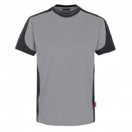 Hakro – T-Shirt Contrast Performance weiß/rot/schwarz/royal/tinte/titan